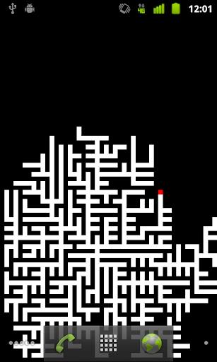 Prim Dijkstra Maze Wallpaper