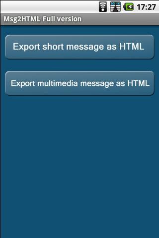 Msg2HTML Full Version