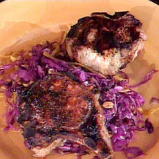 Chili Marinated Double-Cut Pork Chops