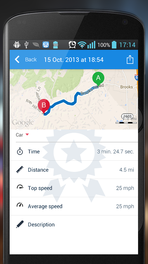 HUDWAY — GPS Navigation HUD Screenshot 5