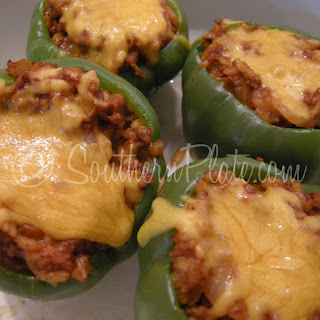 Janice's Stuffed Bell Peppers
