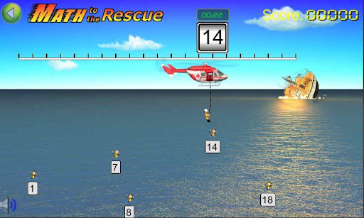 Math to the Rescue Game