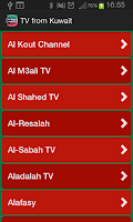 Screenshot of TV from Kuwait