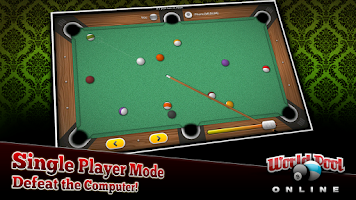 Screenshot of World Pool Online
