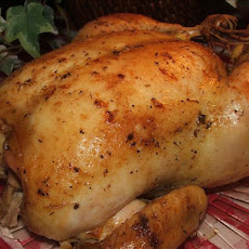 Delicious Roast Chicken (Or Turkey, Cornish Hens, Etc.)