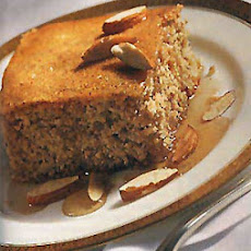 Lemon-Honey Almond Cake