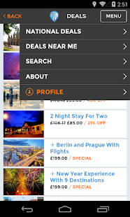 Allonholidays - screenshot