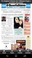 Screenshot of Il Quotidiano della Calabria