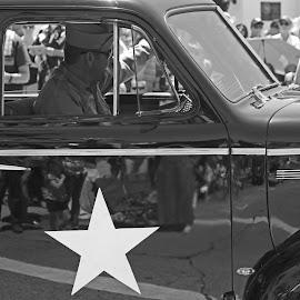 Vintage Military Vehicle by Jeannine Jones - Transportation Automobiles (  )