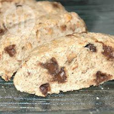 Chocolate Chip Hazelnut Biscotti