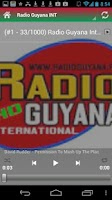 Screenshot of Guyana News, & Radio