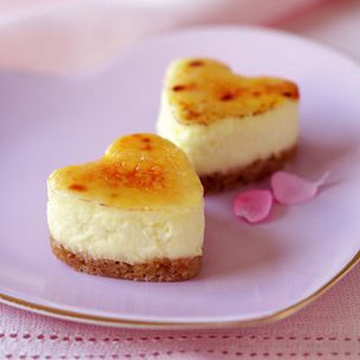 Brûléed Mini Cheesecakes