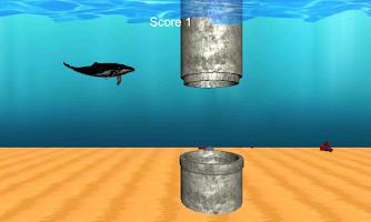 Screenshot of Flappy Whale