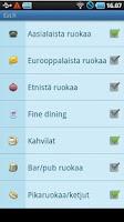 Screenshot of Eat.fi - Restaurant search