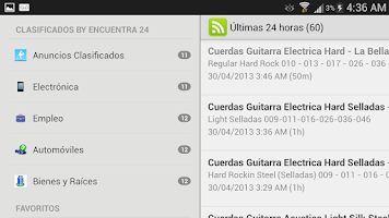 Screenshot of Clasificados de Panama