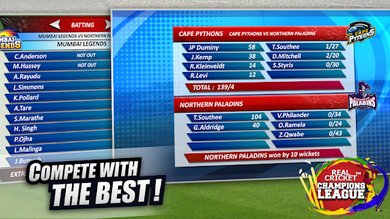 Real Cricket™ Champions League Screenshot