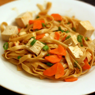 Spicy Noodles with Tofu (Dou Hua Mian)