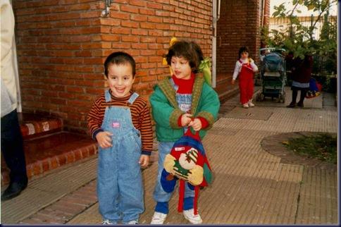 Santiago y Jessica