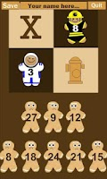 Screenshot of Gingerbread Multiplication