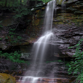 Dutchmans-1 by William Hamm - Landscapes Waterscapes ( william hamm, pa., waterfall, lycoming county, ralston )