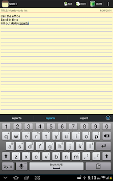Notepad APK screenshot thumbnail 11