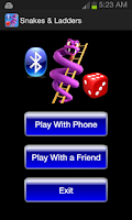 Screenshot of Snake & Ladders Bluetooth Game
