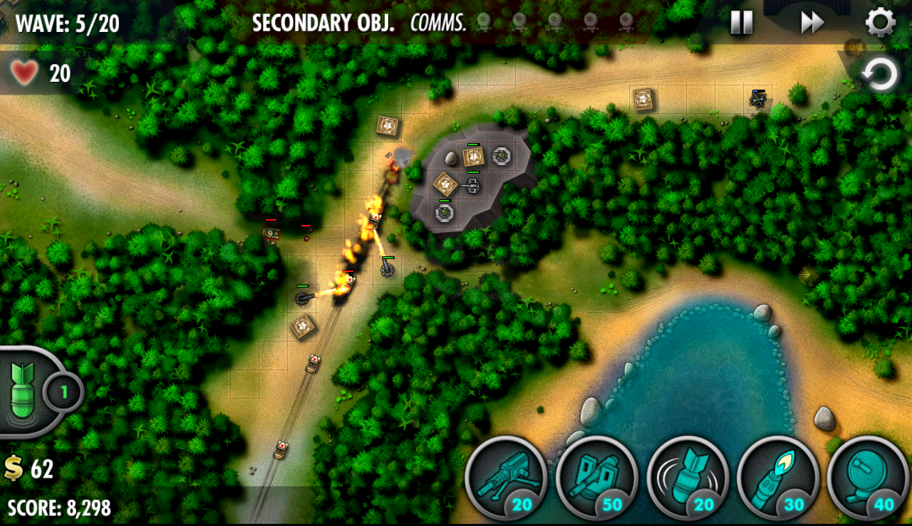 iBomber Defense Pacific Screenshot 13