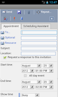 Screenshot of OWM for Outlook Web Email OWA