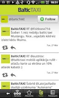 Screenshot of BalticTAXI