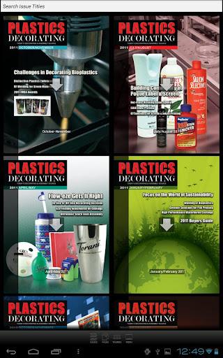 Plastics Decorating Magazine