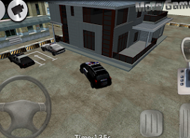 Screenshot of 3D Police Car Parking