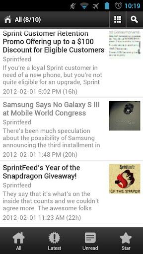 【免費新聞App】SprintFeed-APP點子