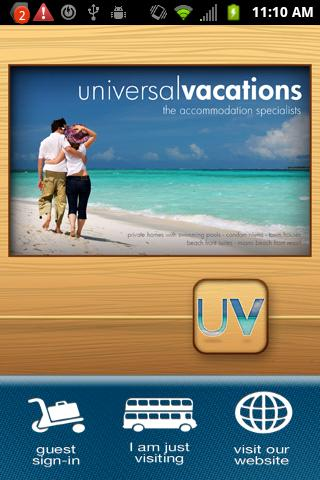 Universal Vacations