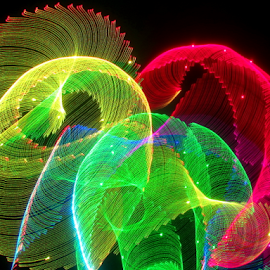 Parra shoots ! by Jim Barton - Abstract Patterns ( laser light, colorful, light design, laser design, laser, light, science, parra shoots,  )