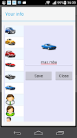 Screenshot of Word race