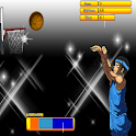 Basketball shot icon