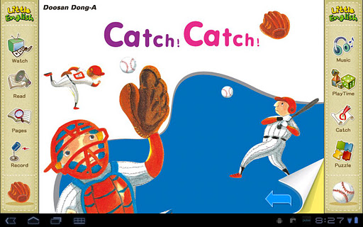 리틀잉글리시-Catch Catch 6세용
