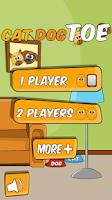 Screenshot of Cat Dog Toe