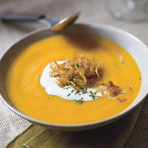 Roasted Garlic and Butternut Squash Soup