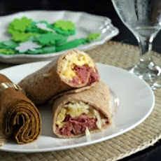 Low Fat Breakfast Wraps