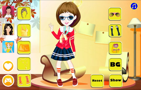 Cute Eva Dressup - screenshot