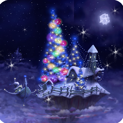Christmas Snow Fantasy Live Wallpaper Full APK Cracked Download