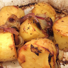 Lemon & Lime Roasted Red Potatoes