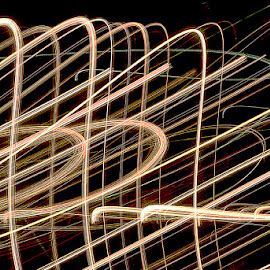by Jorge Wiin - Abstract Light Painting