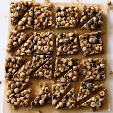 Hazelnut Shortbread Bars