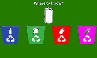 Screenshot of Educational Kids Recycling