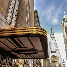 Downtown Indianapolis by Christine May - Buildings & Architecture Architectural Detail ( indiana, indianapolis, architectural, architectural detail, architecture, cityscape, photo, photography, city )