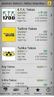 Screenshot of TaxiPal