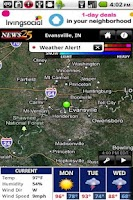 Screenshot of NEWS 25 WX