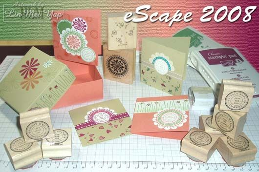 eScape Stampin' Up! event Sydney, Australia